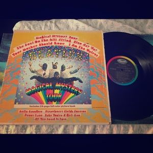 Vinyl records- the BEATLES